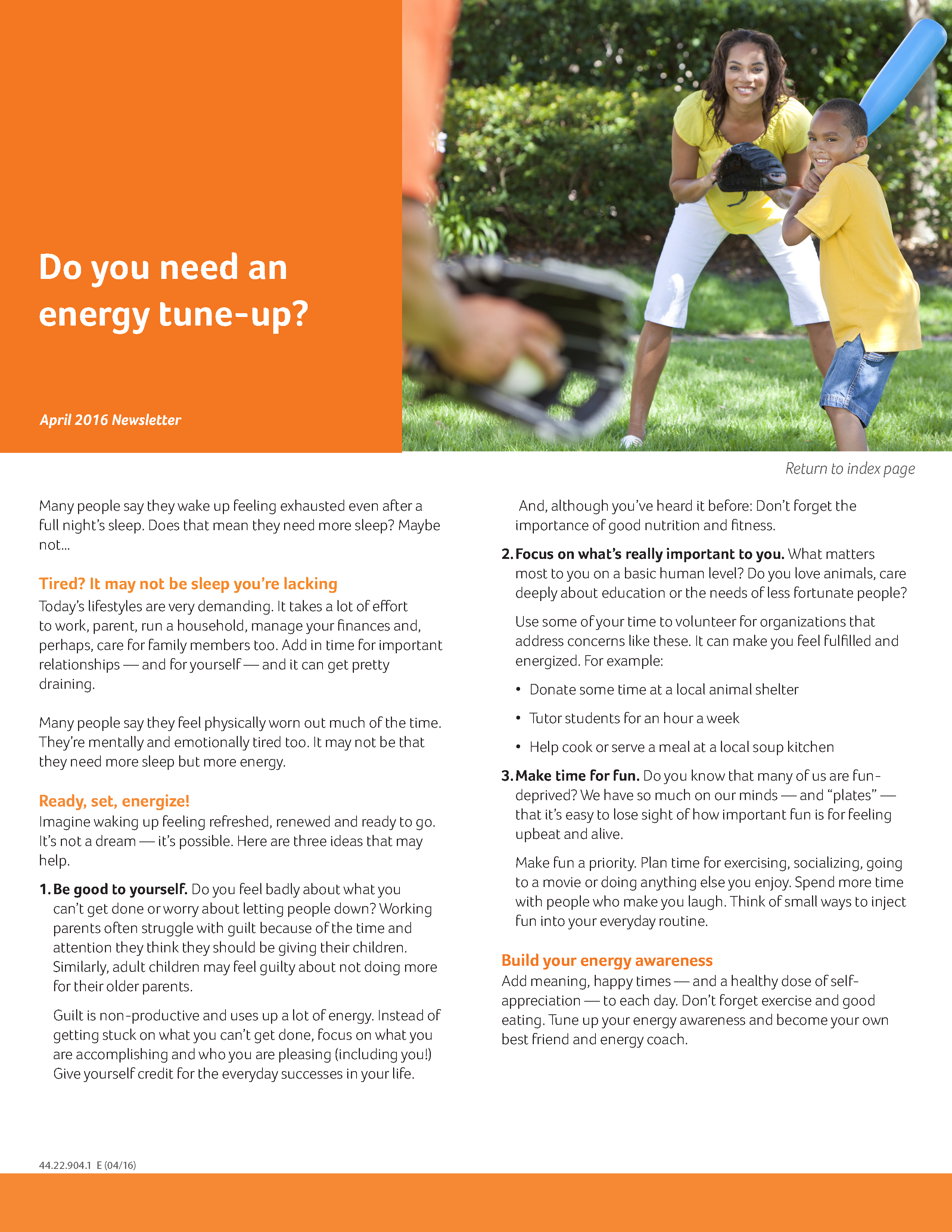 Apr16_MonthlyBulletin_Do you need an energy tune up