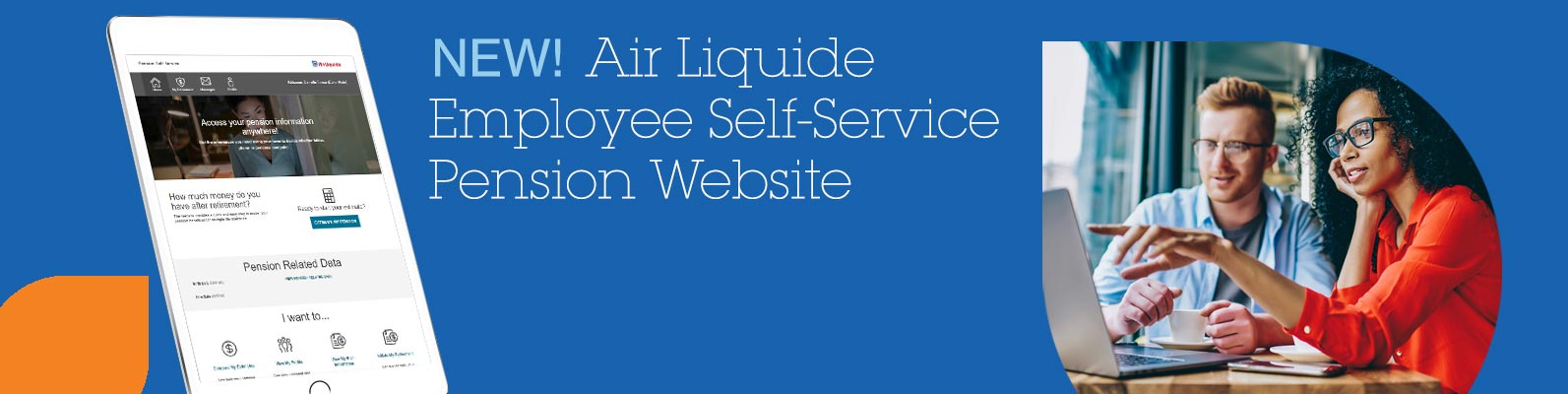 New! Air Liquide Employee Self-Service Pension Website