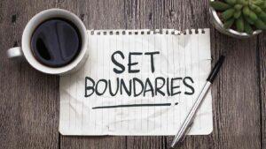 Webinar: Drawing the line: How to set boundaries